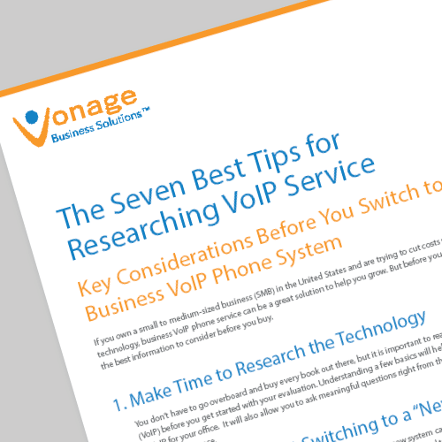 Business VoIP Phone Services: 7 Best Tips whitepaper