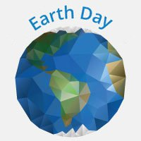 Business VoIP: Earth Day globe image