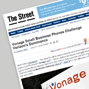 "Business VoIP: ""The Street"" article"