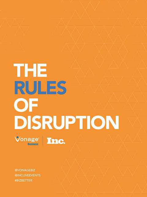 Rules of Disruption graphic: Disruption in Business