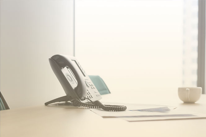 SIP trunking explained: A phone used through SIP trunking features