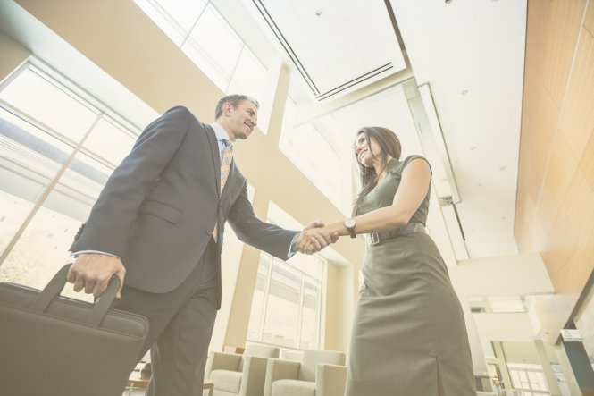 A lawyer gains client trust