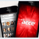 Find us through the ACCE app