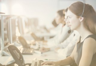 Contact center associates enjoy improved QoS in networking as they take calls.