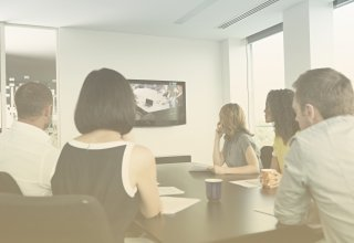 Lawyers using video conferencing solutions to collaborate with colleagues and clients