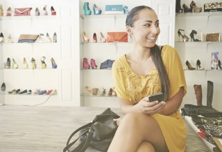 A retail company marketing to Generation Z by providing meaningful messages