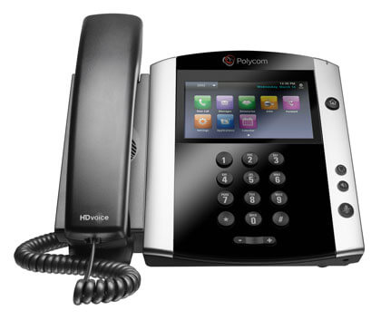 polycom vvx601 voip business phone system