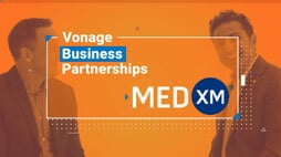 Vonage Business Partnership with MedXM