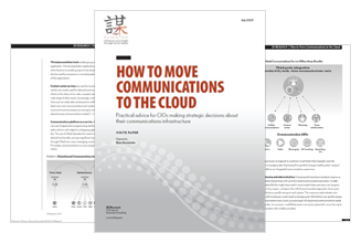 How to Move Communications to the Cloud