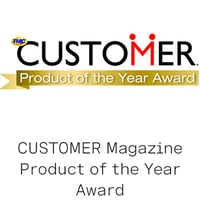 2019 CUSTOMER Product of the Year Award logo