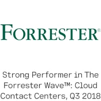 Forrester Wave Strong Performer logo