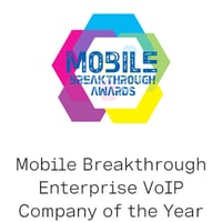 Mobile Breakthrough Enterprise VoIP Company of the YearAward logo