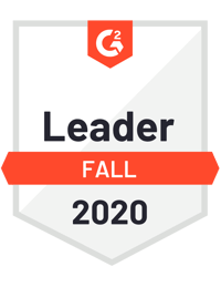 G2 Leader Fall 2020 badge