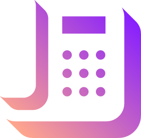 Pictogram of a desk phone