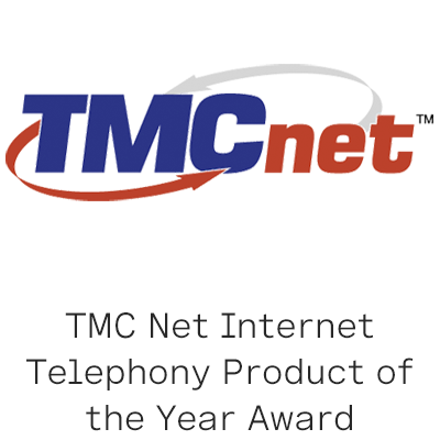 TMC Net Product of the Year 2018 logo