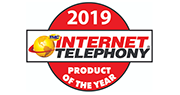 2019 Internet telephony product of the year logo