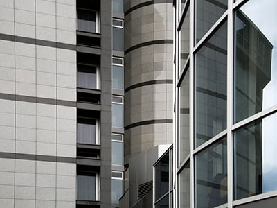 modern architecture closeup